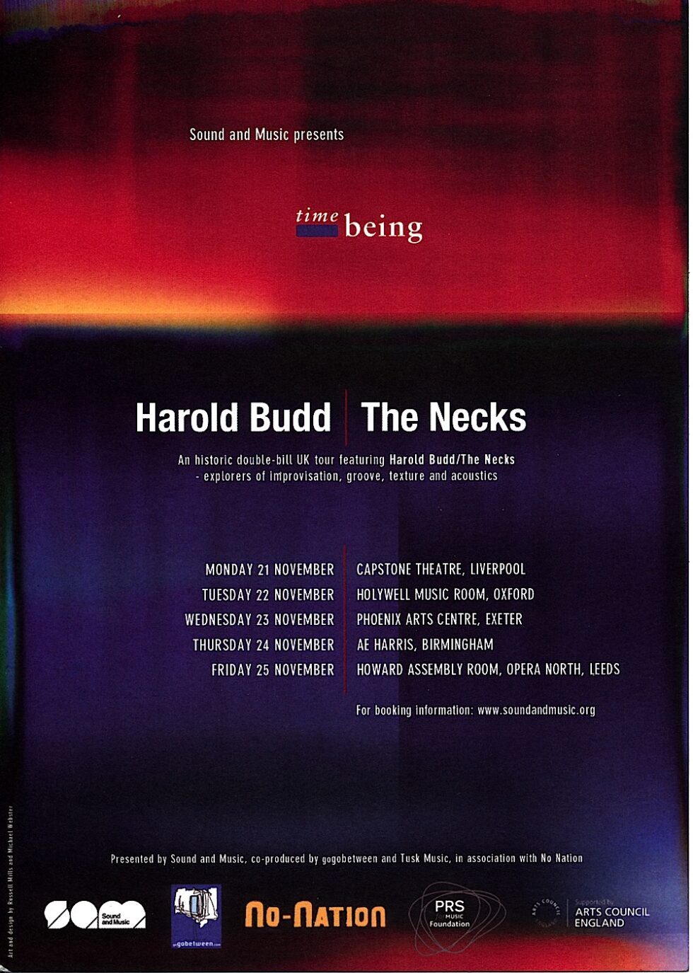 Harold-Budd-The-Necks-Time-Being-poster-2011